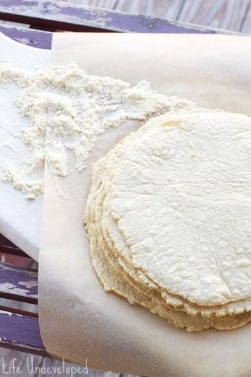 Homemade tortillas: without the tortilla press, this would still be astonishingly easy. Doing it!