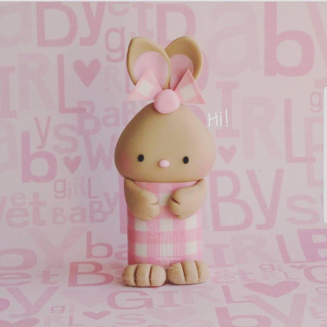: @sugarhighinc. #sweet #pink #rabbit #baby #babygirl #girl #jente #rosa #inspiration #detlilleekstra #dinbabyshower #babyshower #dåp #navnefest