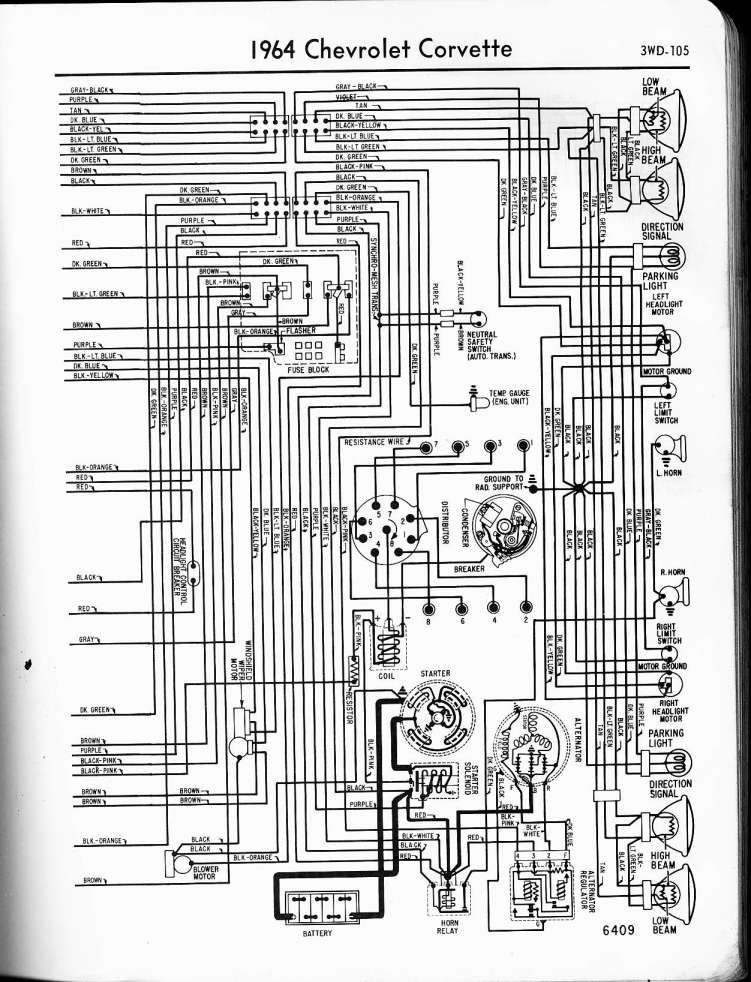 1964 Chevy Truck C10 Wiring Diagram And Nova Wiper Wiring Diagram Wiring Diagram Schematics Diagram Powerstroke Car Stereo