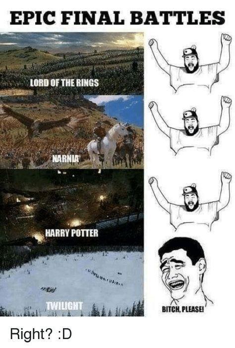 36 Harry Potter Vs. Herr der Ringe Memes That M … – #Harry #Lord #memes #Pot …