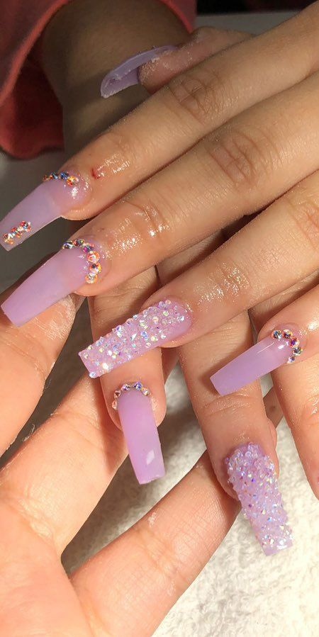 Best Lavender Shades And Nails Designs That Can Suit You The Most
