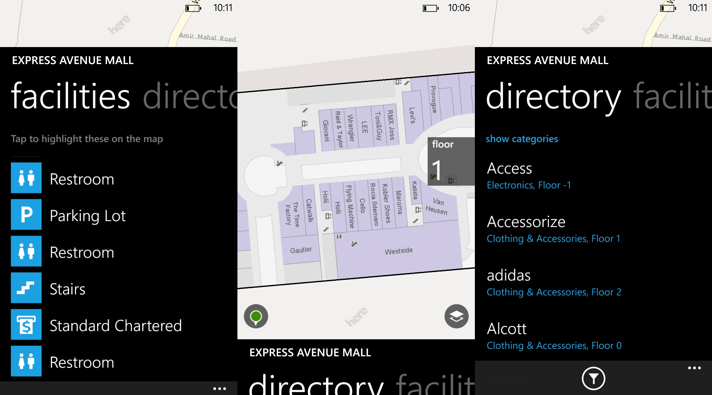 Nokia Maps HERE Updating internal mapping to show the shopping malls in India   Nokia has just updated their support HERE Destination Maps Maps, which has been fitted to show the malls in India. Nokia has always been to expand the coverage of Destination Maps and July 2012, Nokia announced the 4605 scene, expanding its shopping centers, department stores, airports and transit stations in 38 countries.