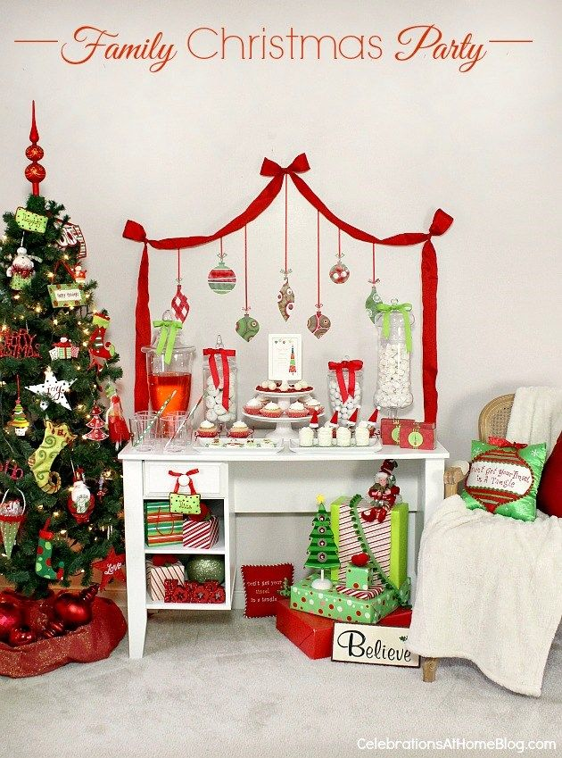 ideas for a family christmas party