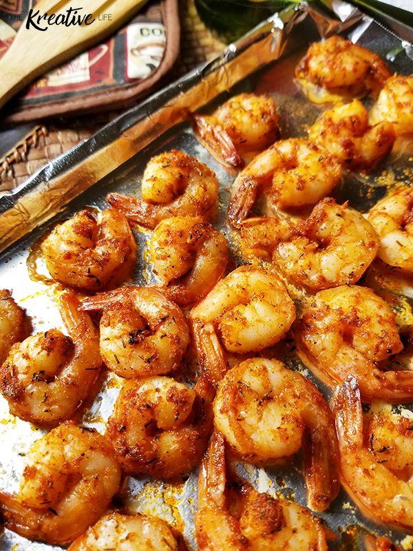 Photo of Baked Cajun Shrimp Recipe – The Kreative Life