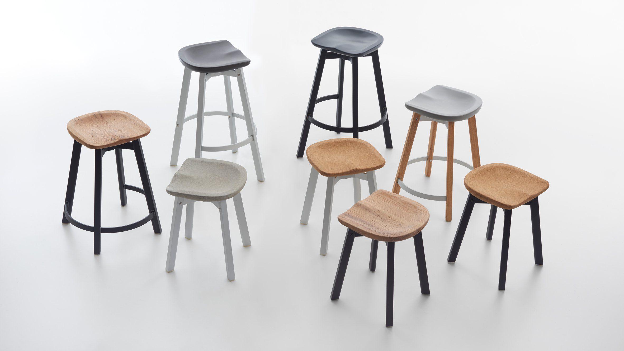 SU Stool collection Cork Seat by Nendo | E I C H L E R | Pinterest ...