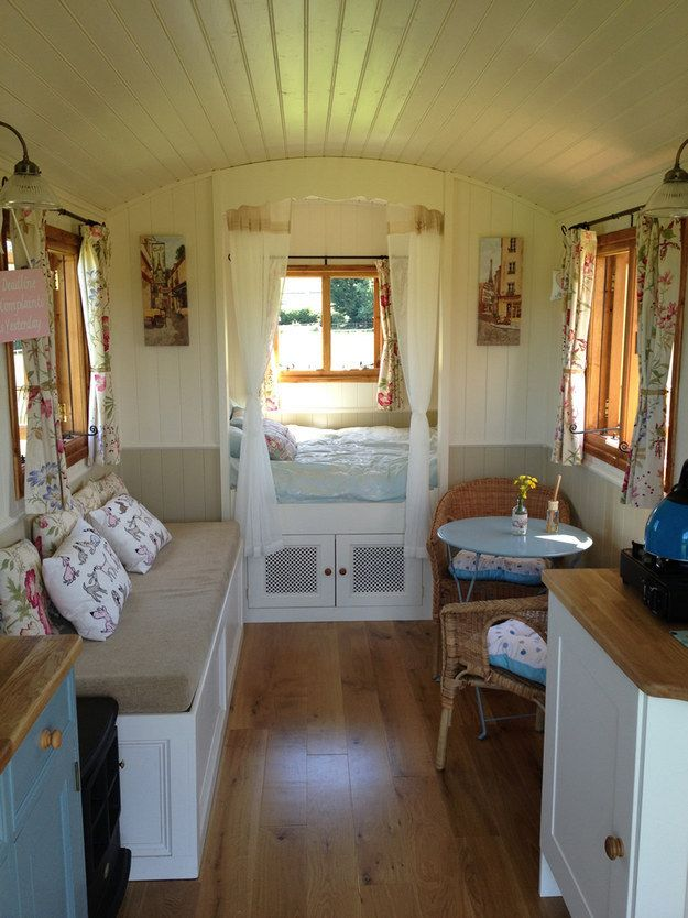 No Longer Need To Leave The Comfort Of Your Home To Travel #tinyhomes