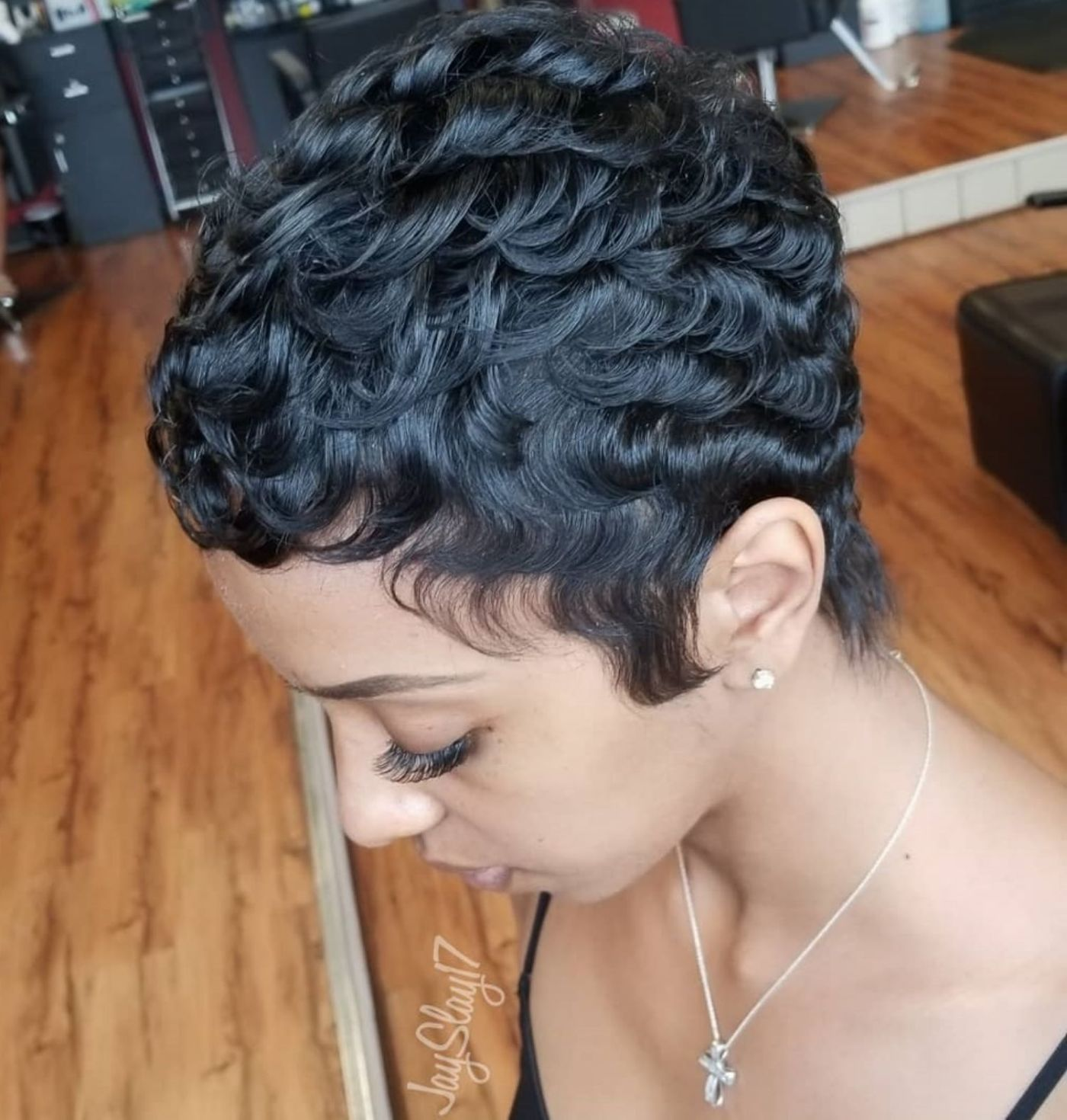 50 Most Captivating African American Short Hairstyles 50 African American C Short Hair Styles Pixie Short Hair Styles African American Short Hair Styles