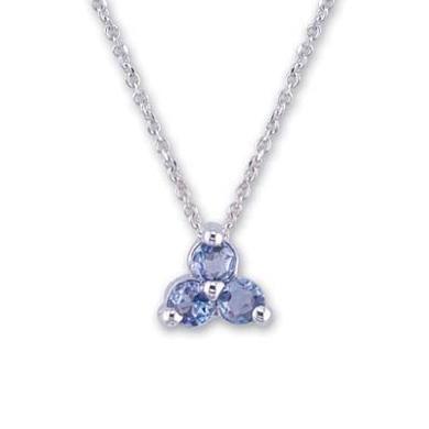 Ladies Tanzanite Necklace