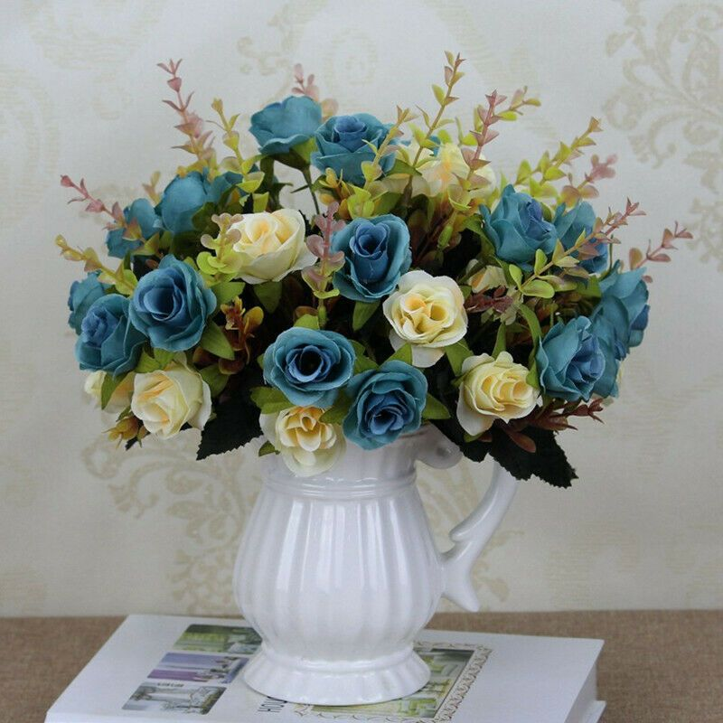 Artificial Flower Bouquet Stamen Party Wedding Car Millinery Decor Supplies