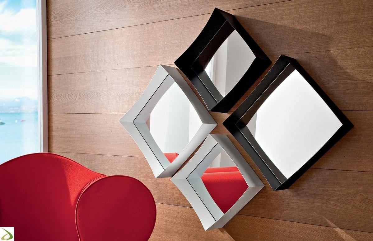 Specchio Fano Specchi, Specchi quadrati e Specchi moderni