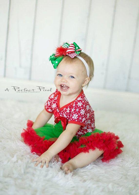 Baby Christmas dress- Baby Girl christmas Outfit - Girls Christmas dress - Christmas  Pettiskirt -baby tutu - Baby Dress - Christmas Dress - Baby Christmas Dress- Baby Girl Christmas Outfit - Girls Christmas