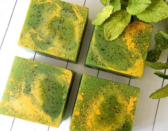 ROSEMARY LEMONGRASS Soap All Natural Soap Rosemary