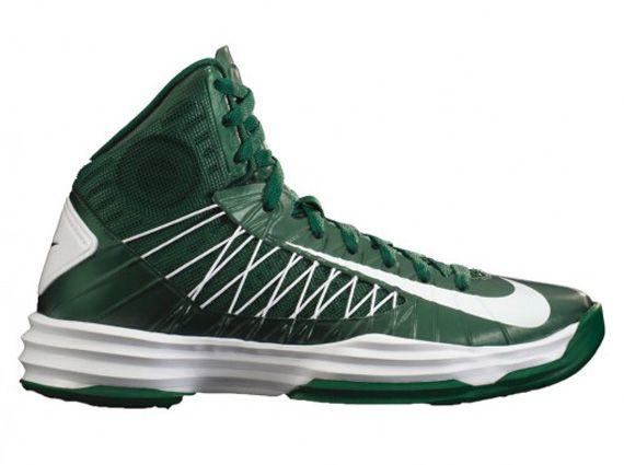 Nike shoe · Womens Hyperdunks 2012 Green