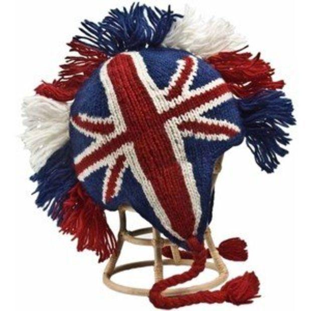a0e4b3f05 Punk Britain Union Jack Mohawk Hat | Union Jack Attack | British ...