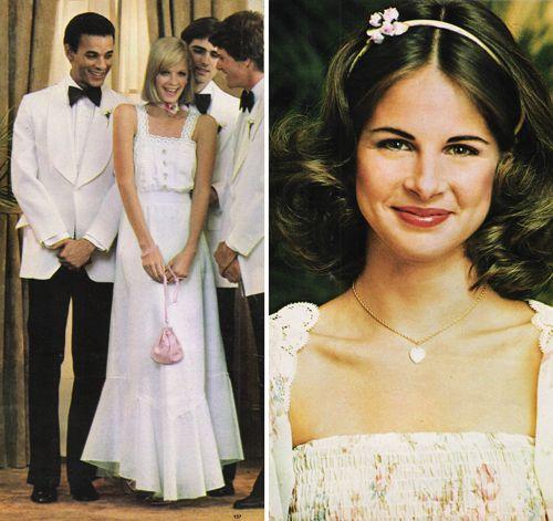 Seventeen Magazine Prom Fashion 1977
