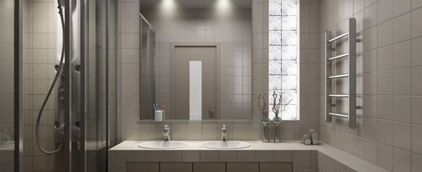Peinture carrelage salle de bain Modern Decor Pinterest
