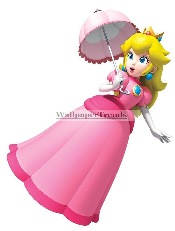 Super Mario Bros Games Super Princess Peach Wall Decal  Princess