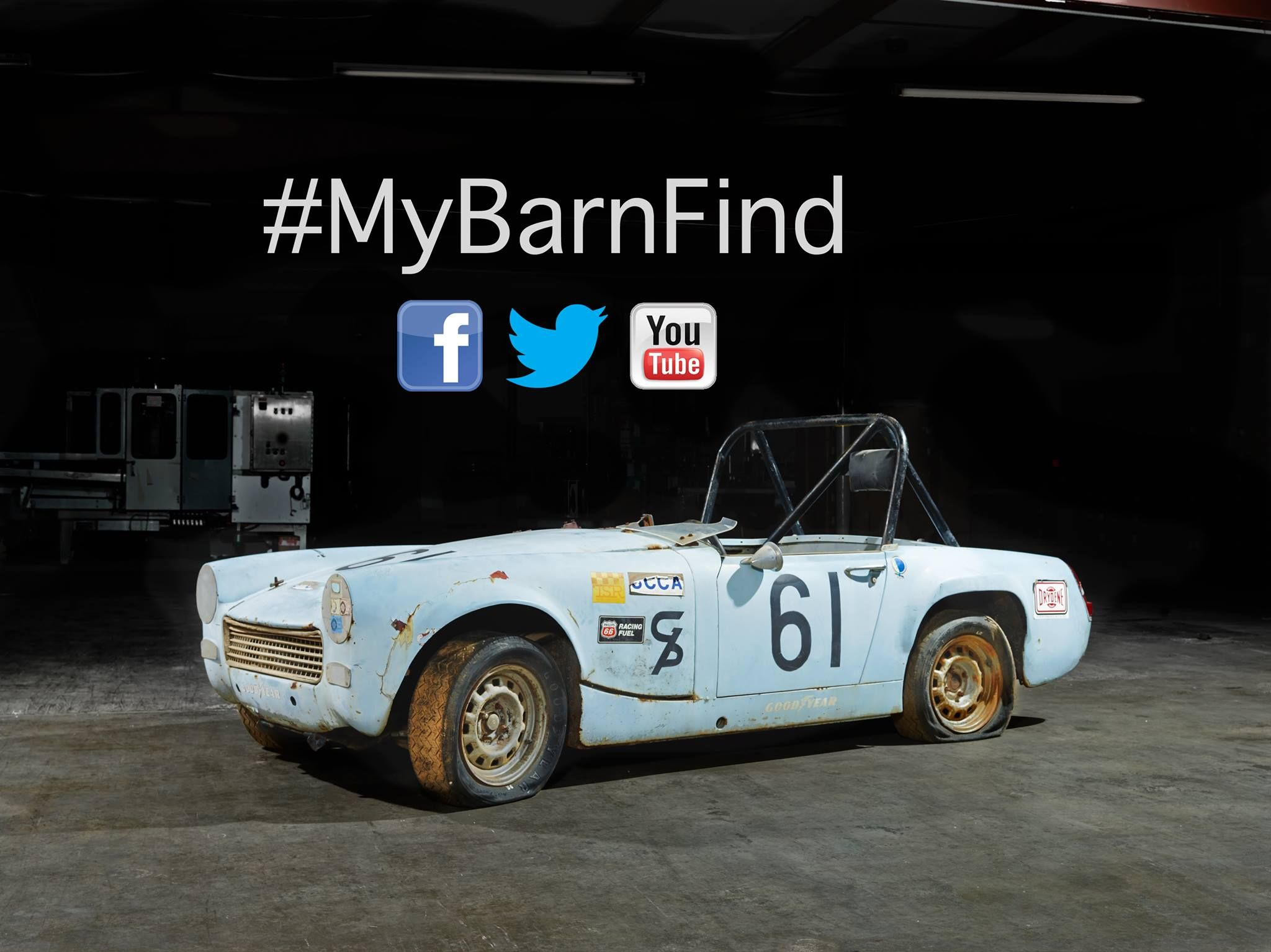 Our Austin Healey Sprite Race Car Barn Find The Kids And I Are On A