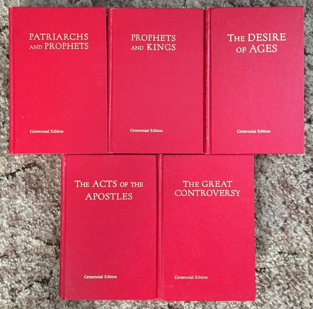 Ellen G White Conflict Of The Ages Centennial Edition 5 Volumes