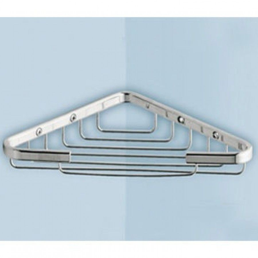 Gedy by Nameeks Corner Shelf in Chrome - 2480-13 | For the Home ...