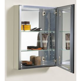 Kohler Aluminum Cabinet With Oil Rubbed Bronze Framed Mirror Door