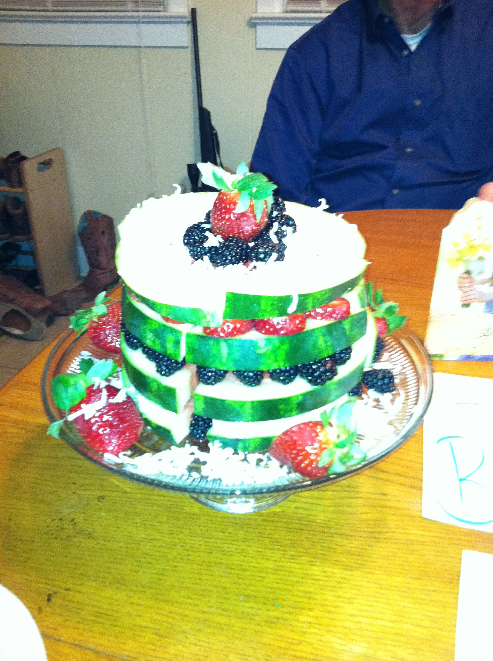 Birthday Cake Idea For Daniel Fast