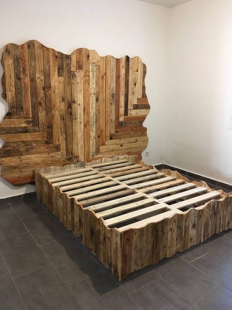 50 Latest Pallet Wood Recycling Ideas And Projects Wooden Pallet Beds Pallet Designs Palette Furniture