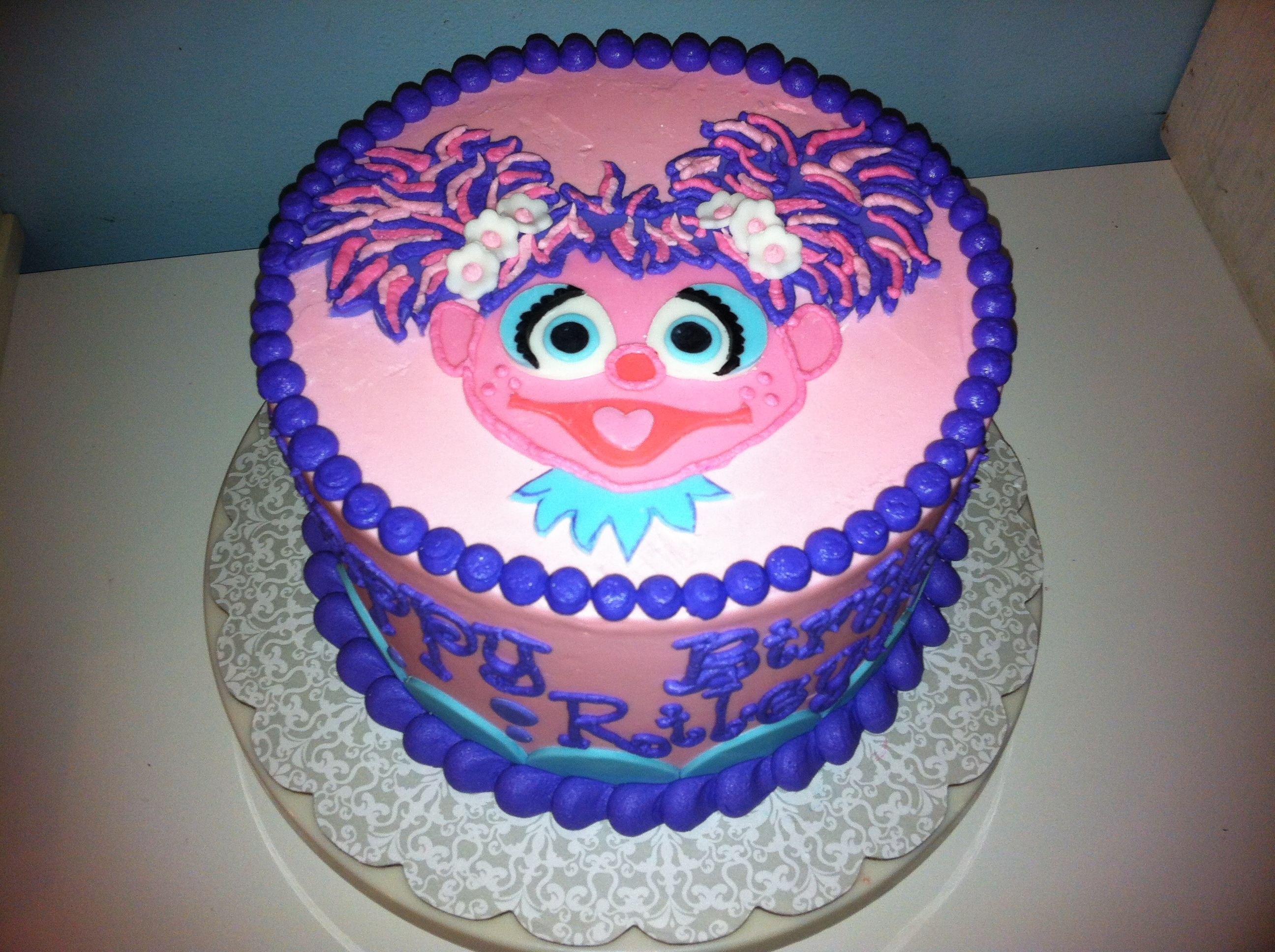 Magnificent Abby Cadabby Cake Google Search With Images Sesame Street Birthday Cards Printable Nowaargucafe Filternl