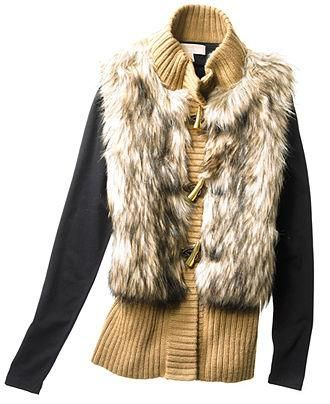 Michael Kors: A faux fur vest she'll want to add to her wardrobe, no doubt