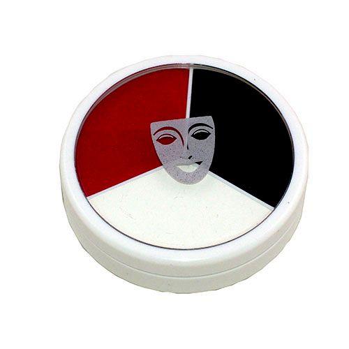 Ideal para la caracterización de mimos, geisha y todo lo que puedas imaginar. Presentación 30 grs.