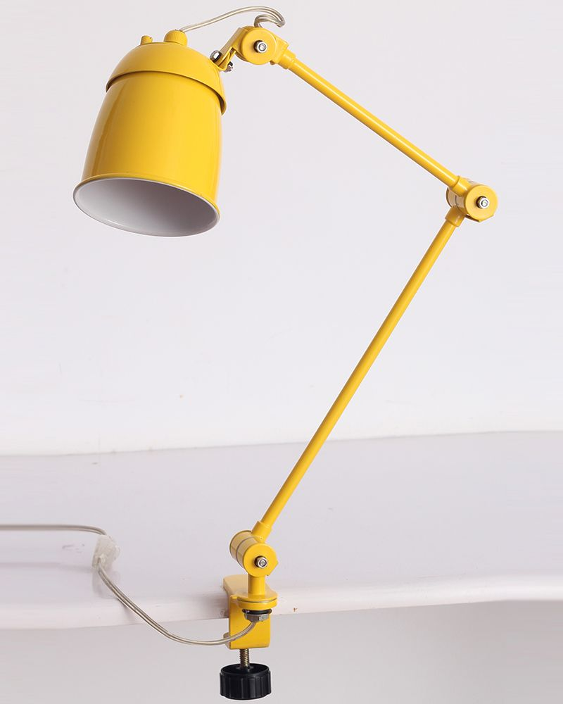 Playn Yellow Clamp Lamps Clamp Lamp Lamp Desk Lamps
