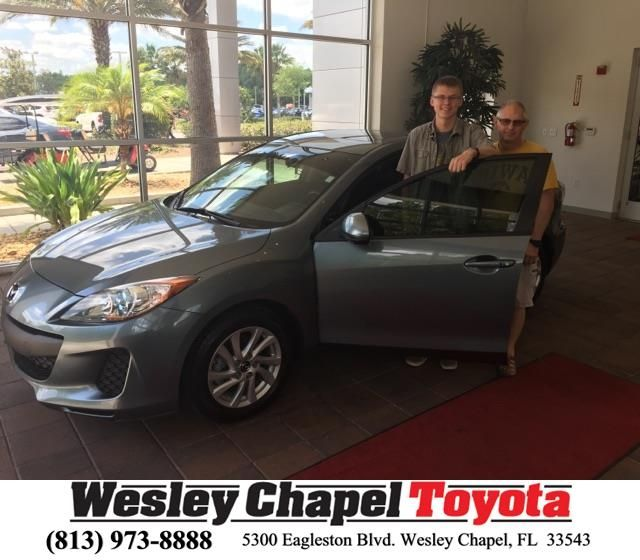 Congratulations Rodney On Your #Mazda #Mazda3 From Glenn Deller At Wesley  Chapel Toyota!