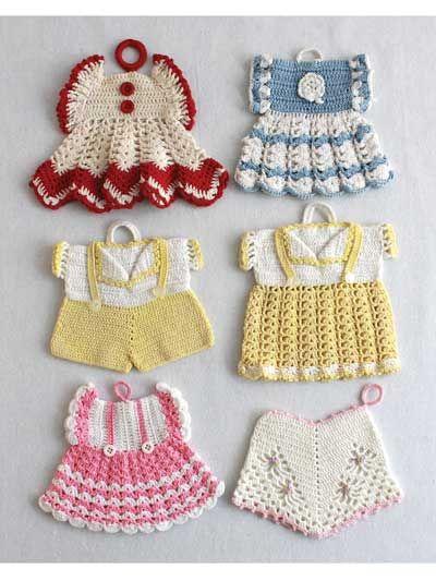 Unique And Fun Crochet Potholder Patterns Christmas Pinterest