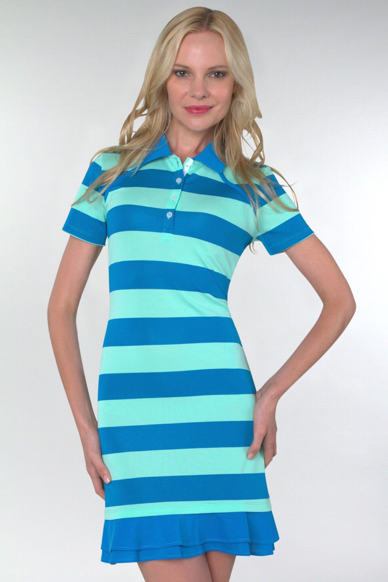 Oakley Ladies Golf Sweet Spot Stripe Women&-39-s Golf Dress : OK ...