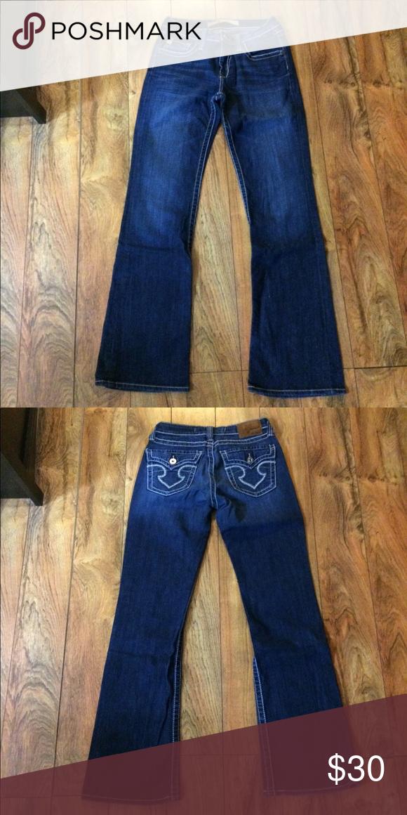 """0880a7c4d78 Big Star """"hazel curvy fit"""" jeans like new 29 long Big Star Jeans Boot Cut"""