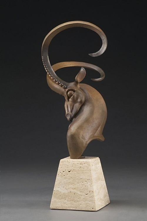 Bronze sculpture by Timothy Nimmo