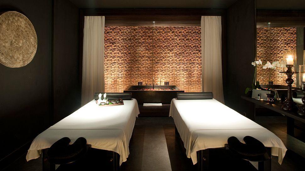 Treatment room decor on pinterest treatment rooms spas for Spa room color ideas