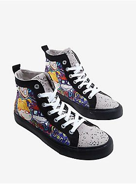 Nickelodeon Rugrats Hi-Top Sneakers  cb996b498