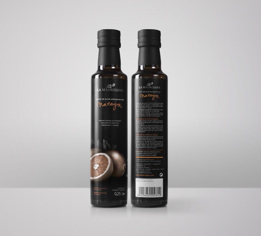 Diseño de packaging para una gama de aceites aromáticos. Realizado por el estudio de diseño Atipus