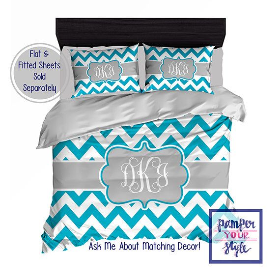 Interior Design Your Own Bedding custom designed chevron teal and gray bedding duvet or comforter personalized create design your own bedding