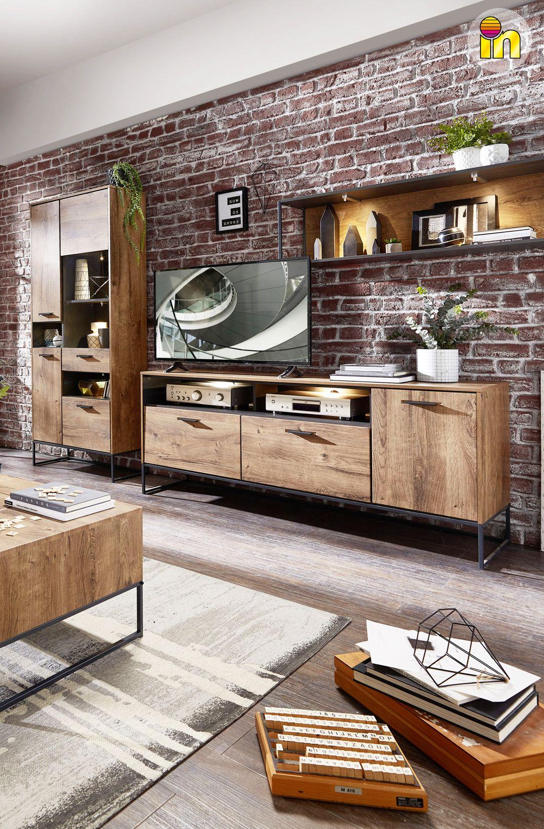 Wohnwand in 2020   Wohnen, Neue wohnung und Haus