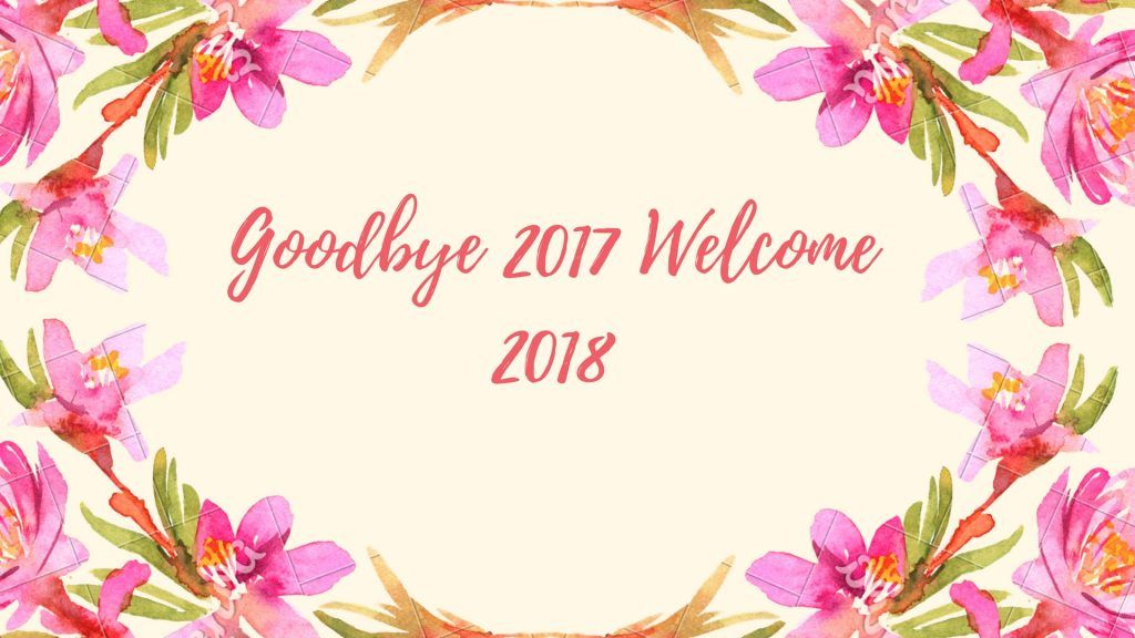 Hd Pics Goodbye 2017 Welcome 2018