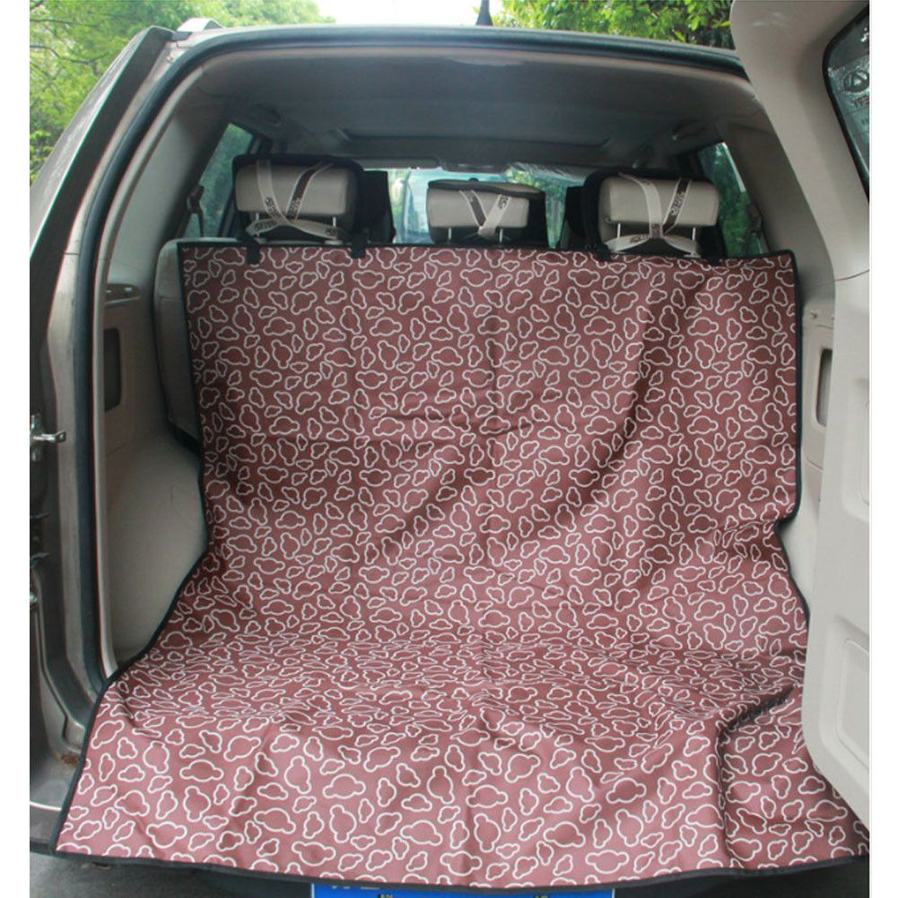 Waterproof Pet Car Seat Cover Dog Travel Mat for SUV Trunk
