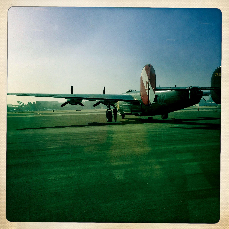 B-24 WWII plane!