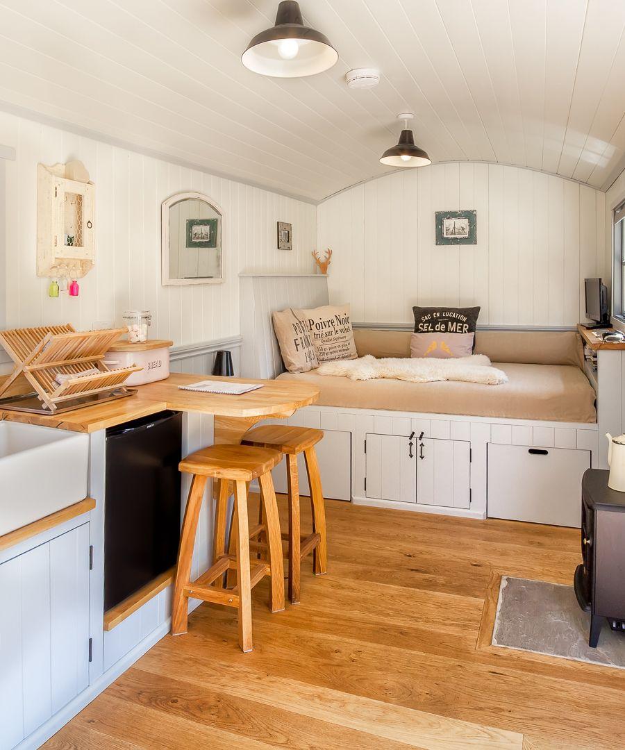 The Shepherds Hut Retreat Tiny Living Tiny house living T