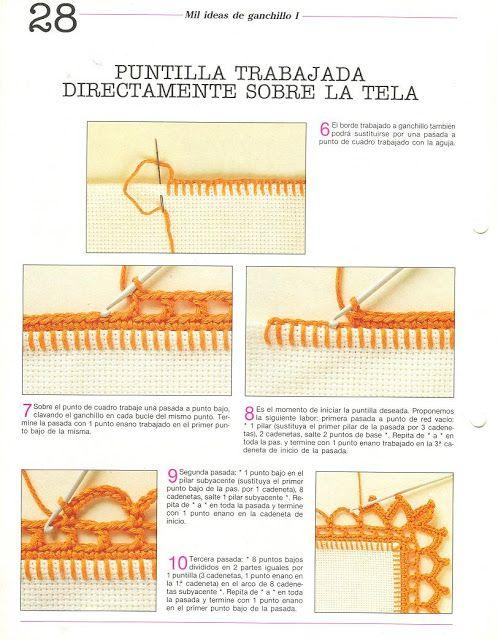 Materiales gráficos Gaby: Mil ideas en ganchillo con patrones ...