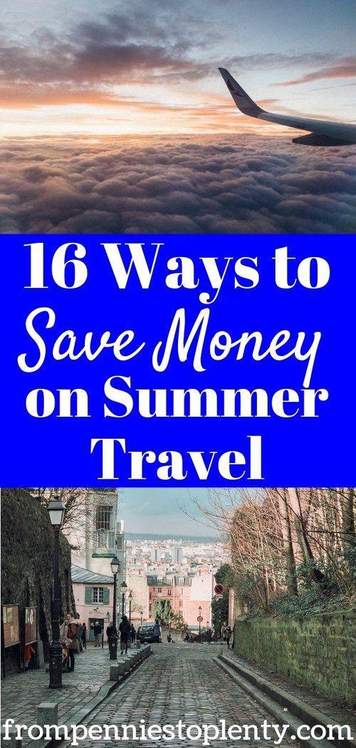16 Tipps, um Geld bei Sommerreisen zu sparen   – Best of DD Personal Finance Group Board