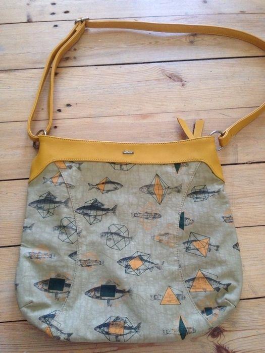 6138f907d3756 NEU Skunkfunk Tasche Origami Fisch - kleiderkreisel.at
