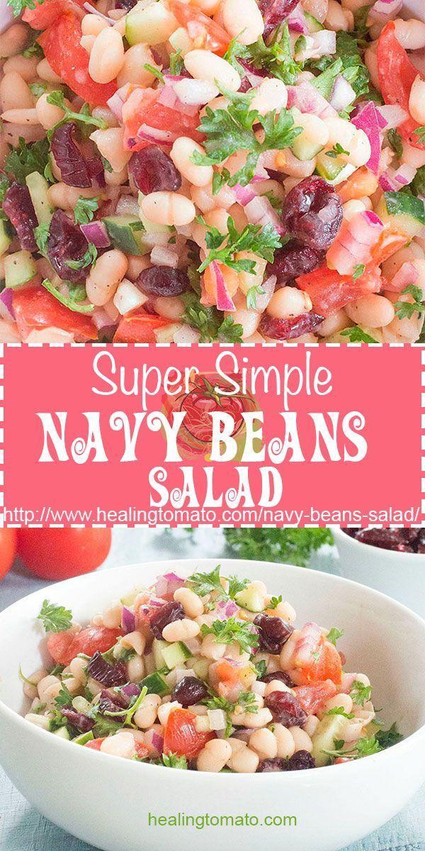 Navy Beans Salad