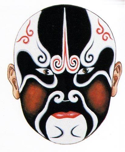 Chinese Face Paint Opera Art